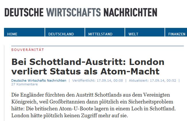 Deutschen Wirtschafts Nachrichten